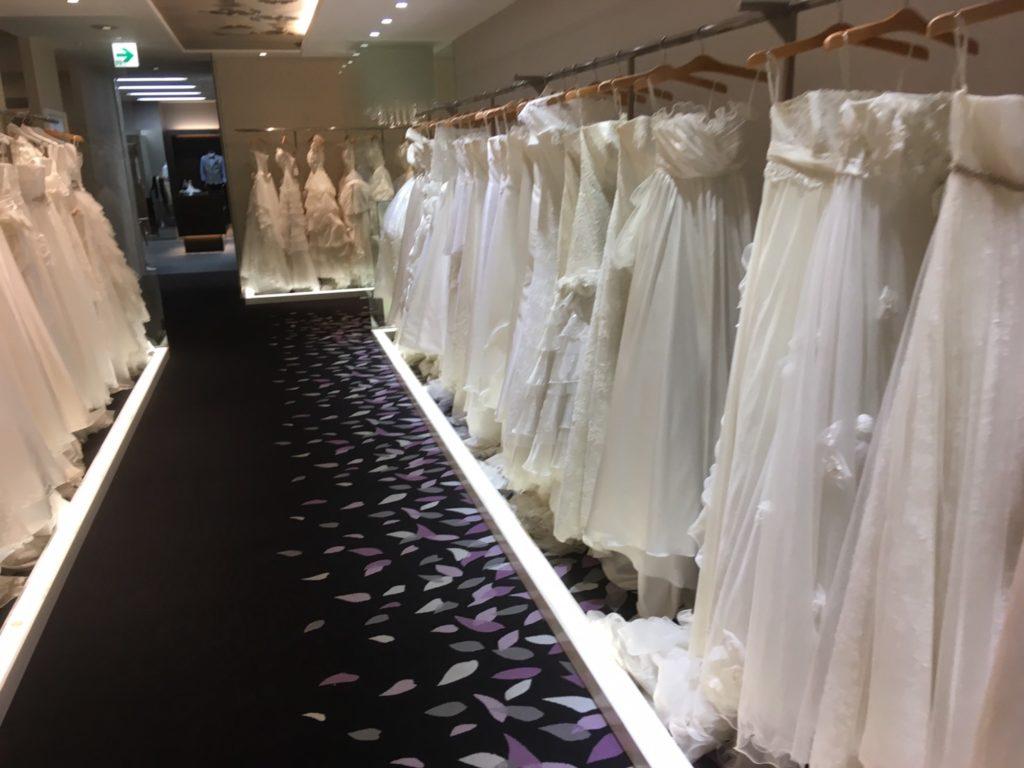 ワタベウェディング ドレス試着の体験談 お値段は 種類は 基本